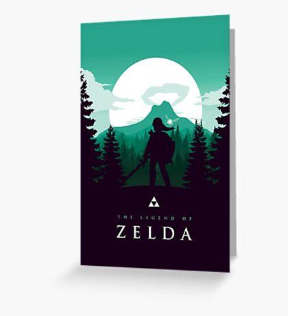 The Legend of Zelda (Green) Greeting Card
