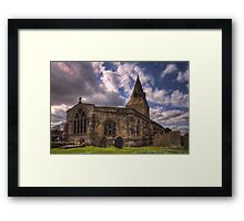 All Saint Church Misterton Framed Print