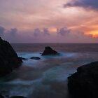 While The Sun Sets by Gary Buchan