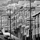 San Francisco street by Tom  Marriott