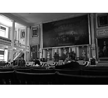 Inside the Old State House Photographic Print
