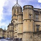 Street in Oxford  by flashcompact