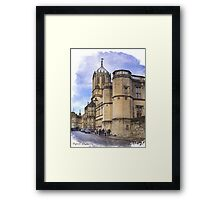 Street in Oxford  Framed Print