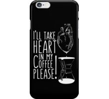 Put your heart into it man! iPhone Case/Skin