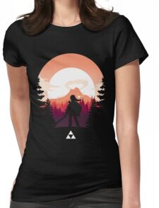 The Legend of Zelda (Orange) Womens Fitted T-Shirt