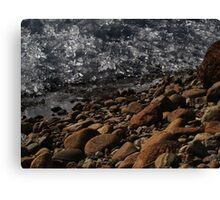 Wall of Ice Canvas Print