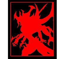 Diablo - Lord of Terror (red) Photographic Print