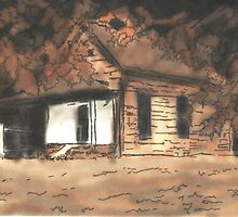 The Cabin in the Woods by Kyleacharisse