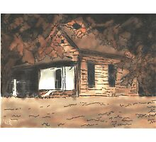 The Cabin in the Woods Photographic Print