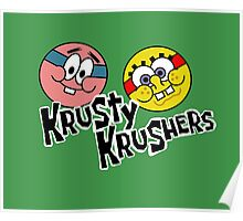 The Krusty Krushers! Poster