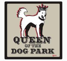 Queen of the Dog Park  Kids Tee