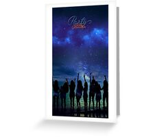 Girls Generation Party Greeting Card