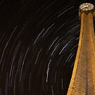 Stars at the clock by Thomas Anderson