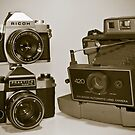 Old cameras by Sean McConnery
