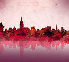 new york city skyline 4 by BekimART
