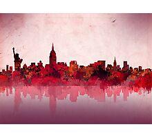 new york city skyline 4 Photographic Print