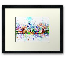 new york city skyline 5 Framed Print