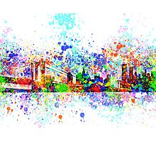new york city skyline 5 Photographic Print
