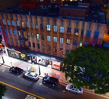 Night Street Scene by Stephen Burke