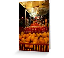 The Fruit Stand Greeting Card