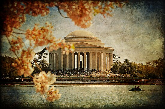 Jefferson Memorial by Lois  Bryan