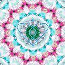 Healing mandala 3 by Lilaviolet