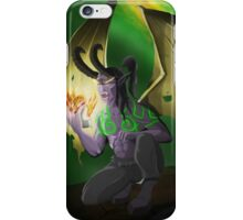 Illidan Stormrage - Warcraft  iPhone Case/Skin