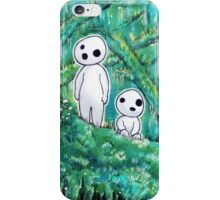 Princess Mononoke - Kodama iPhone Case/Skin