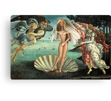 The Birth of Barbie Canvas Print