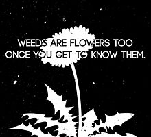 Weeds are Flowers Too by TReich03