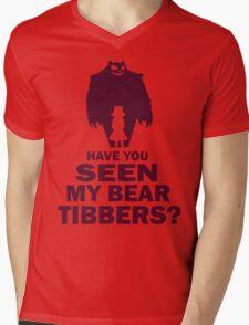 Annie design Mens V-Neck T-Shirt