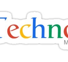 Techno Music Sticker