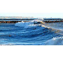 Heavy Surf Photographic Print