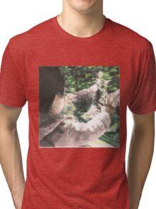 Little Rowan's Reflection Tri-blend T-Shirt