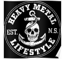 Heavy Metal Lifestyle-Nova Scotia Poster