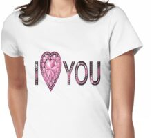 i heart you Womens Fitted T-Shirt