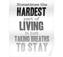 Breaths to Stay Poster
