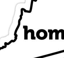 Virginia. Home. Sticker