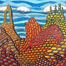 308 - MAN-MADE MOUNTAINS - COLOURED PENCILS - DAVE EDWARDS - 2010 by BLYTHART