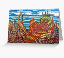 308 - MAN-MADE MOUNTAINS - COLOURED PENCILS - DAVE EDWARDS - 2010 Greeting Card