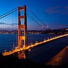Golden Gate Bridge at dawn by Bryan Jolly