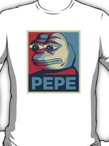 Pepe Hope Poster T-Shirt