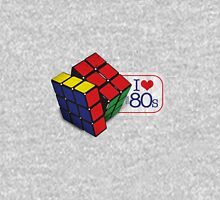 I love the 80's - Cube Womens Fitted T-Shirt