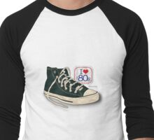I love the 80's - Converse Men's Baseball ¾ T-Shirt