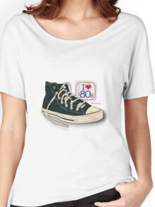 I love the 80's - Converse Women's Relaxed Fit T-Shirt