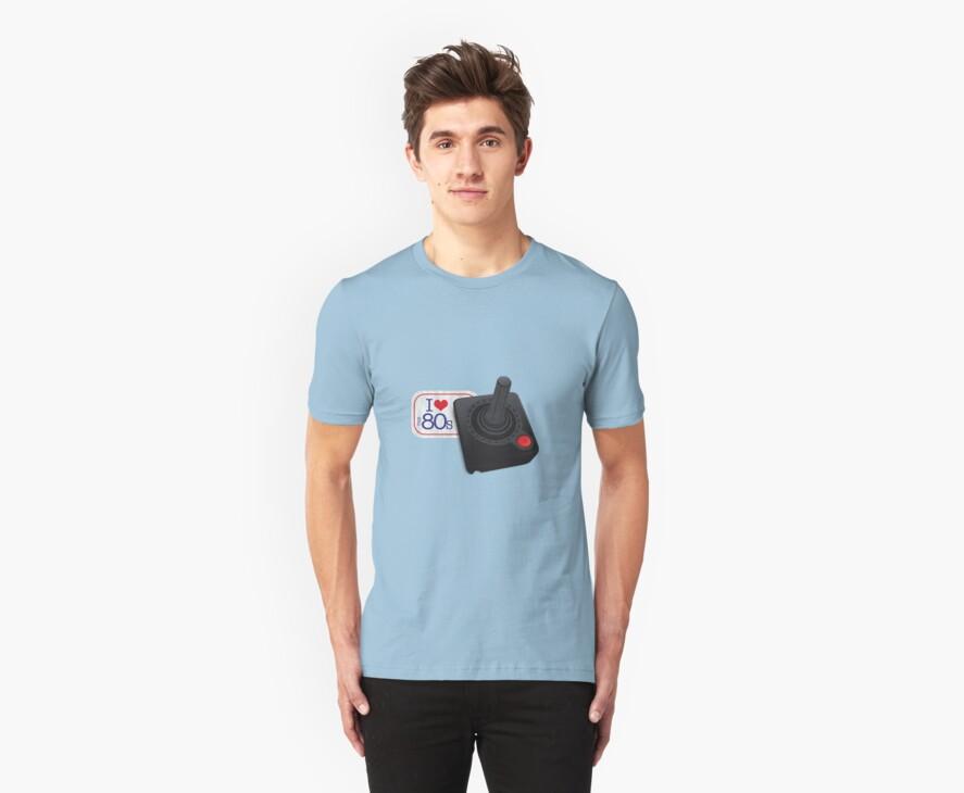 I love the 80's - Atari by soyelzappo