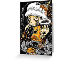 Captain Pirate Greeting Card