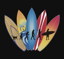 Surfing Evolution One Piece - Short Sleeve