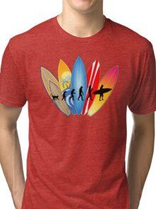Surfing Evolution Tri-blend T-Shirt