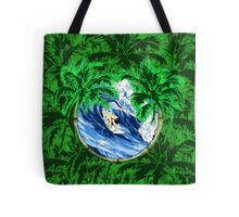 Tropical Surfer Tote Bag
